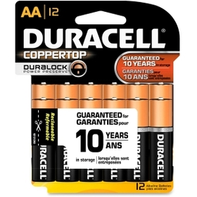 Duracell MN15RT12Z Alkaline General Purpose Battery, AA - Alkaline, Price/PK