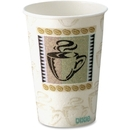 Dixie PerfecTouch Hot Cup, 10 oz - 500/Carton - Paper