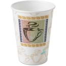Dixie PerfecTouch Hot Cup, 12 oz - 500/Carton - Paper