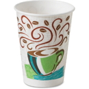 Dixie PerfecTouch Hot Cup, 16 oz - 20/Carton - Paper