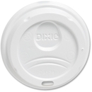 Dixie PerfecTouch Hot Cup Lid, Dome - Plastic - 10 / Carton