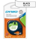 Dymo LetraTag 10697 Paper Tape, 0.50
