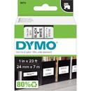 Dymo Black on White D1 Label Tape, 1