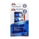 Elmer's Extra Strength Permanent Glue Stick, 0.88 oz - 12/Pack - Light Blue