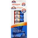 Elmer's All-Purpose Washable Glue Stick, 0.21 oz - 24/Pack - Clear