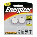 Energizer 2025BP2 Lithium Button Cell 2025 Size General Purpose Battery, 3 V DC