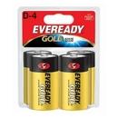 Eveready D Size Alkaline General Purpose Battery, 19500 mAh - D - Alkaline - 1.5 V DC