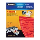 Fellowes Glossy Pouches - 5mil, Photo, 25 pack, Photo-size - 6.25
