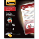 Fellowes Glossy Pouch - Letter, 3 mil, 50 pack, Letter - 9