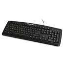 Fellowes Microban Basic 104 Keyboard, Cable - Black - USB - 104 Key - Computer - Function Hot Key(s)
