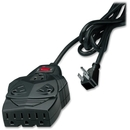 Fellowes 8-outlet surge protection. With 6' cord, space for up to 5 AC adapters. $50,000 warranty, 8 x NEMA 5-15R - 1300 J - 220 V AC Input - 220 V AC Output