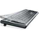 Fellowes Antimicrobial Custom Keyguard Cover Kit - TAA Compliant, Supports Keyboard - Abrasion Resistant, Tear Resistant, Crack Resistant, Dust Proof, Antimicrobial - Polyurethane - Clear