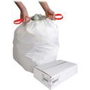 Genuine Joe Drawstring Trash Can Liner, 13 gal - 31
