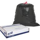 Genuine Joe Drawstring Trash Can Liner, 30 gal - 30