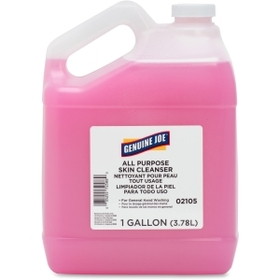 Genuine Joe Liquid Hand Soap with Skin Conditioner, 1gal - Pink - 1 Each, Price/EA