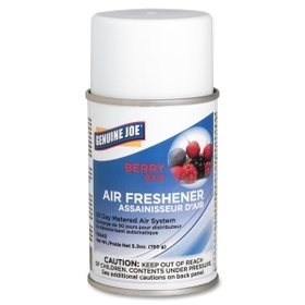 Genuine Joe GJO10443 Genuine Joe Metered Air Freshener, Aerosol - Berry - 30 Day, Price/EA