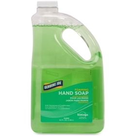 Genuine Joe Foaming Hand Soap, 64fl oz - Rich Lather, Anti-bacterial, Moisturizing - Green, Price/EA
