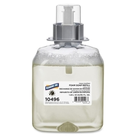 Genuine Joe Unscented Foam Soap Refill, 42.3 fl oz (1250 mL) - Green - 1 Each, Price/EA