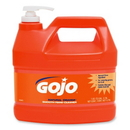 Gojo Natural Orange Smooth Heavy-duty Hand Cleaner, Citrus Scent - 1 gal (3.8 L) - Orange - 1 Each