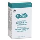 Micrell NXT Maximum Capacity Antibacterial Lotion Soap Refill, 67.6 fl oz (2 L) - Anti-bacterial, Antimicrobial - Amber - 1 Each