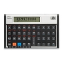 """HP 12C Platinum Financial Calculator, 130 Functions - 1 Line(s) - 10 Character(s) - LCD - Battery Powered - 5.1"""" x 3.1"""" x 0.6"""" - Platinum"""