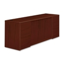 HON 10700 Series Credenza with Doors & File Pedestals, 72