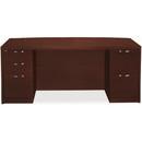HON Valido 11500 Series Double Bow Top Pedestal Desk, 72