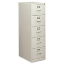 HON 310 Series Vertical File With Lock, 18.3