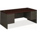 HON 38000 Series Pedestal Desk, 72