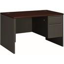 HON 38000 Series Pedestal Desk, 48