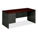 HON 38000 Series Pedestal Desk, 66