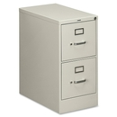 HON Vertical File With Lock, 15