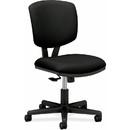HON Volt 5703 Multi-task Chair, Polyester Black Seat - Black Frame - 25.8