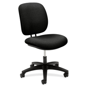 "HON ComforTask 5901 Task Swivel Chair, Steel Black Frame23"" x 29"" x 38"" - Olefin Black Seat, Price/EA"