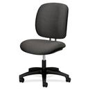 HON ComforTask 5901 Task Swivel Chair, Gray - Olefin Dark Gray Seat - Steel Black Frame - 23