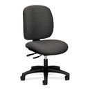 HON ComforTask 5903 Multi-Task Chair, Dark Gray - Olefin Gray Seat - Steel Black Frame - 24