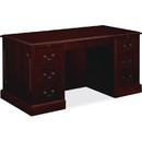 HON 94000 Series Executive Desk, Rectangle - 30