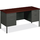 HON Metro Classic Kneespace Credenza, Rectangle - 4 Drawers - 60