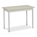 HON High-pressure Laminate Utility Table, Rectangle - 40