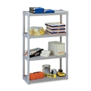 Iceberg Rough 'N Ready 4-Shelf Open Storage System, 32