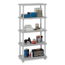 Iceberg Rough 'N Ready 5-Shelf Open Storage System, 36