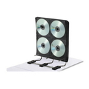 IdeaStream Gapless Media Binder, Binder - White - 272 CD/DVD