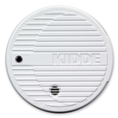 Kidde Battery Powered Fire Smoke Alarm, 85 dB - Flashing LED - Security Alarm - White