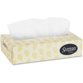 "Kimberly-Clark Surpass Two-ply Facial Tissue, 2 Ply - 100 Sheets Per Box - 7.88"" x 8.5"" - White, Price/BX"