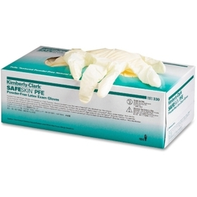Kimberly-Clark KIM57110 Kimberly-Clark Examination Gloves, X-Small Size - Powder-free, Textured - Latex - 100 / Box - Natural, Price/BX