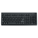 Kensington Keyboard for Life, Cable - Black - USB - 104 Key - Computer - Membrane