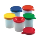 CLI Paint Cup, 10/Set - Plastic - Assorted