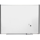 Lorell Signature Magnetic Dry Erase Board with Grid Lines, 48