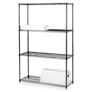 Lorell 4-Shelf Add-On Wire Shelving, 36