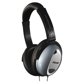 Maxell MAX190400 Maxell HP/NC-II Noise Cancellation Headphone, Gray - Wired - 60 Ohm - 10 Hz 28 kHz - Nickel Plated - Binaural - Ear-cup, Price/EA